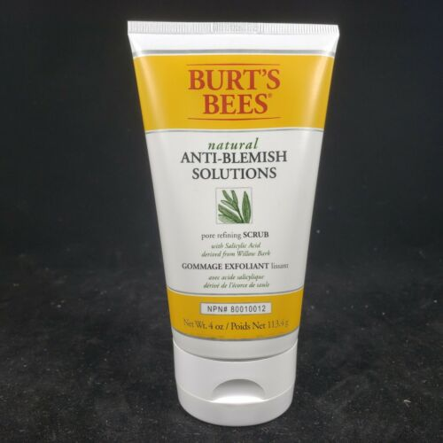 Lot of 2 Burt's Bees Natural Anti Blemish Solutions Pore Ref