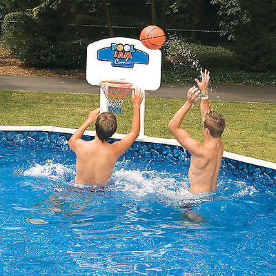 Swimline Swimming Pool Jam For Above-Ground Pools Basketball / (Swimline Pool Jam)