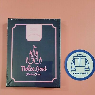 Twice Twiceland Fantasy park zone 2 Blu ray SEALED NEW All pack 2nd tour 2 discs