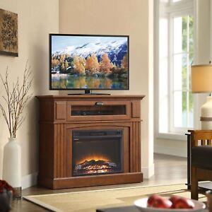 Corner Fireplace Tv Stand Ebay