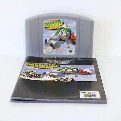 Mischief Makers - Nintendo 64 N64 Game - Cart & Manual
