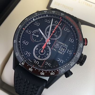TAG HEUER CARRERA MONACO GRAND PRIX LIMITED EDITION 1887 REF CAR2A83.FT6033 B&P