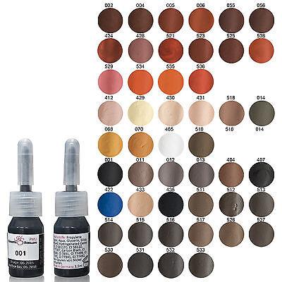 KS Permanent Make Up Farbe 3 Stück Einführungsangebot 3,5ml Deutscher Hersteller