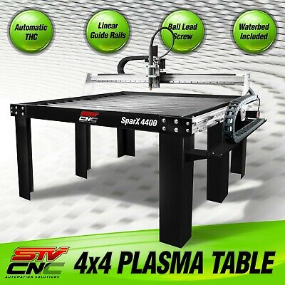 Stv Cnc 4x4 Plasma Cutting Table Sparx-4400 - Made In The Usa