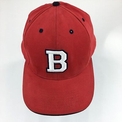 Boston Red Sox Baseball Hat 2002 Red Ball Cap Embroidered MLB Apparel