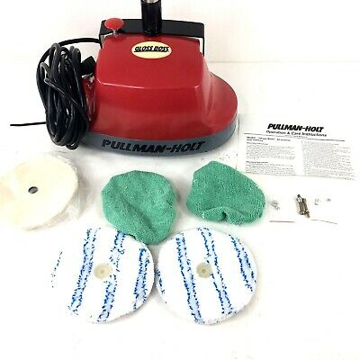 Pullman Holt Gloss Boss Mini Floor Scrubber Buffer Tested Good Condition