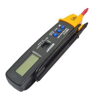 Portable Digital Multimeter Pen Type Volt Ohm Ammeter Auto Range Multi-function