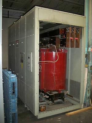 Siemens 3 Phase Dry Transformer 30004000 Kva 13800-480 Volt Delta
