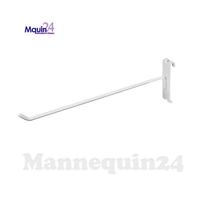 Gridwall Hooks For Grid Wall 10 - 100 Pcs - White - Free Shipping