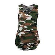 Ladies Army Vest