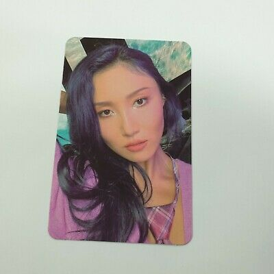 MAMAMOO I Say MAMAMOO : The Best Official Hwasa Bizent Special Photocard K-POP