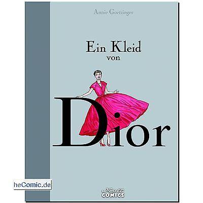 Ein Kleid von Dior Geschichte Biographie Mode New Look NY Goetzinger COMIC NEU