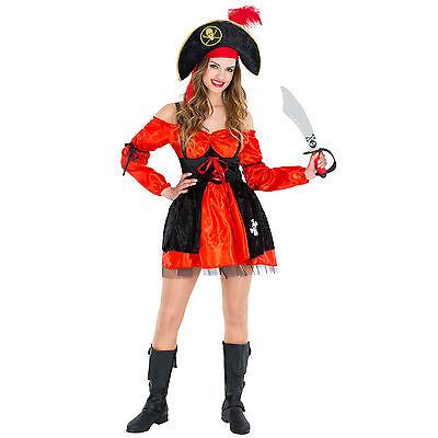 Frauenkostüm Piratin Piratenbraut Pirat Kostüm Seeräuber sexy Fasching Karneval