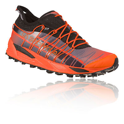 La Sportiva Mens Mutant Trail Running Shoes Trainers Sneakers Black Orange