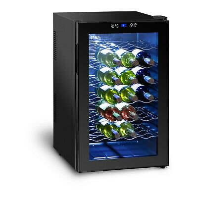 Small Wine Fridge Mini Drinks Refrigerator Cooler Chiller Hotel 80L 28 Bottles