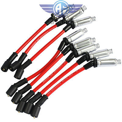 JDMSPEED Plug Wire For CHEVY Silverado 1500-2500 99-06 LS1 VORTEC 4.8L 5.3L 6.0L