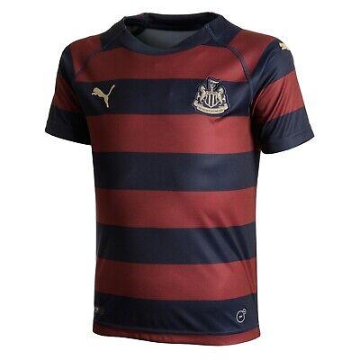 Newcastle United Away Junior Football Shirt Puma Boys Girls Kids Size 7-16 Y NEW