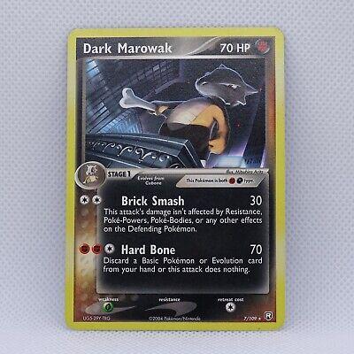 Dark Marowak 7/109 - Rare - EX Team Rocket Returns - Pokemon
