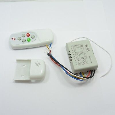 Light Switch 3 Button Wireless Remote Control RF Controller Way 230V