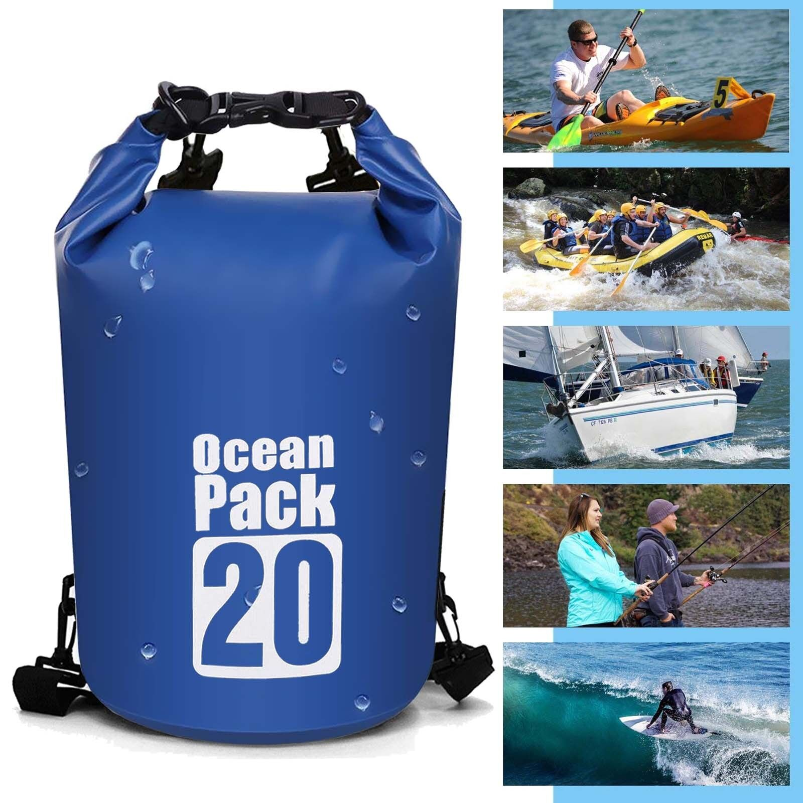 Waterproof Dry Bag Dry Sack, Lightweight Dry Backpack Should