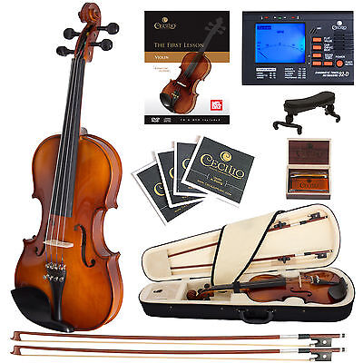 Купить Cecilio - Cecilio CVN-300 Ebony Fitted Violin 4/4 3/4 1/2 1/4 1/8