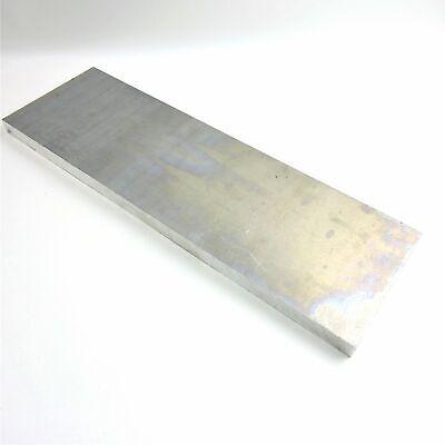 .75 Thick 34 Aluminum 6061 Plate 6.125 X 22 Long Sku 180288