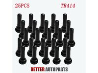 4 Pack ITI TR-414 1-1//2 Rubber Snap-In Valve Stem