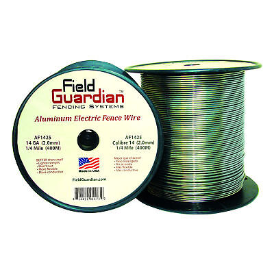 Field Guardian 14 Ga Aluminum Wire 14 Mile Electric Fence Af1425 814421011732
