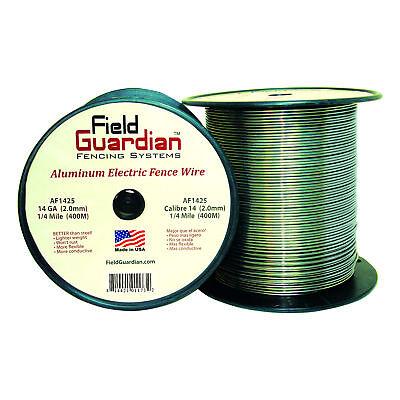 Field Guardian 14 Ga Aluminum Wire 14 Mile Electric Fence Af1425 814421011732