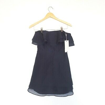 NEW WITH TAGS Keepsake The Label Womens Size Small Navy Strapless Dress
