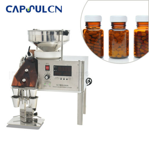 CapsulCN! Semi-Auto High Speed Counting Machine CDR-5A For Capsules/Tablets