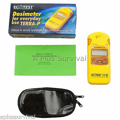 Terra-p Radiation Detector And Dosimeter - Nuclear Geiger Counter Survival Kits