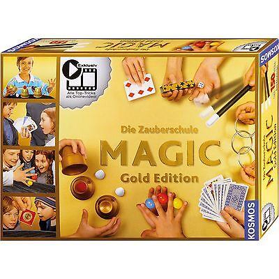 Kosmos Die Zauberschule Magic Gold Edition , Experimentier- und Zauberkasten