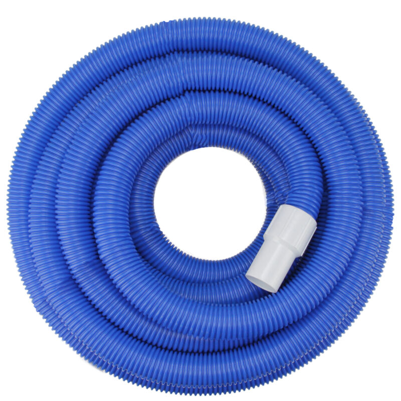 Pool Central Blue Molded PE In-Ground Pool Vacuum Hose Swivel Cuff 25FT x 1.5IN