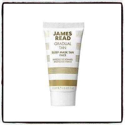 JAMES READ Sleep Mask Tan Face 25ml UNUSED - FREE POSTAGE