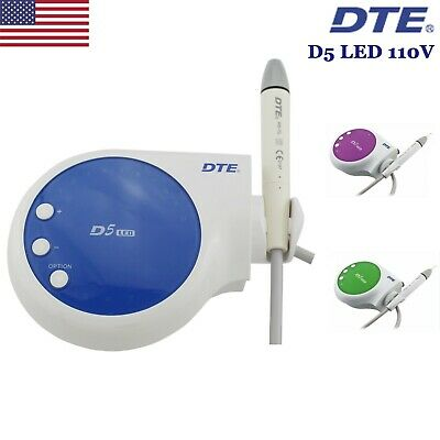 Original Woodpecker Dte Ultrasonic Piezo Scaler Teeth Cleaner D5 Led Handpiece