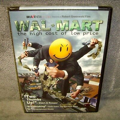 Wal-Mart: The High Cost of Low Price (DVD, 2005, Widescreen)
