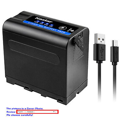 Kastar F980 Replacement Battery for Sony NPF950 NP-F960 NP-F970 NP-F990 PRO ()