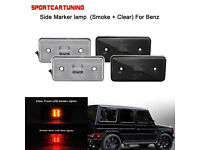 For Mercedes Benz W463 G Class 86-13 White LED License Plate Light  w// Emark USA