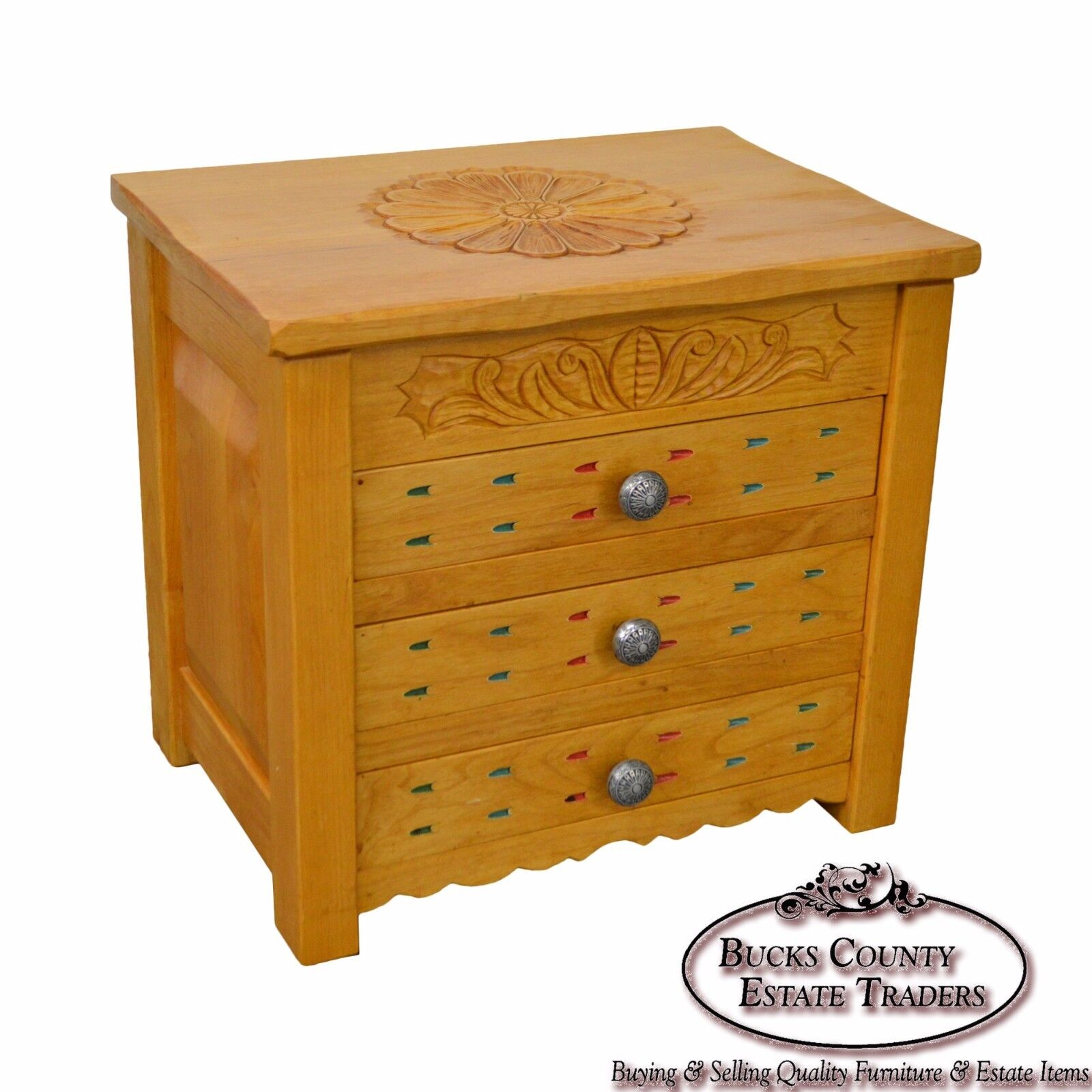 Southwest Style Custom Crafted Jewelry Chest