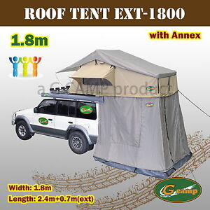 G-CAMP-1-8m-ROOF-TOP-TENT-TRAILER-4WD-4X4-CAMPING-CAR-RACK-ANNEX-EXT-COMBO