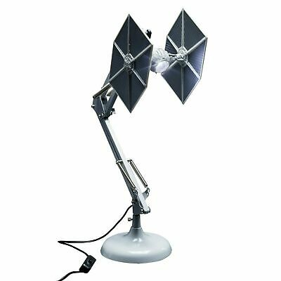 Star Wars Desk USB Luce Tie Fighter Posable Posable umore LED Lamp Home Office