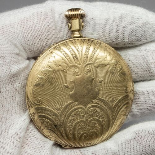 Gold Filled Ingersoll & Brothers Hunting Pocket Watch