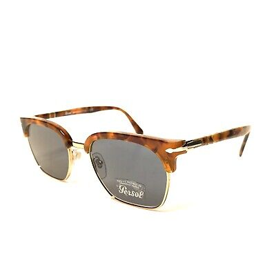PERSOL 3199 1072/56 Sunglasses Tailoring Edition Tortoise Brown 53mm (MSRP (Persol Clubmaster)