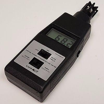 Vwr Digital Humidity Temperature Meter Traceable 35519-043