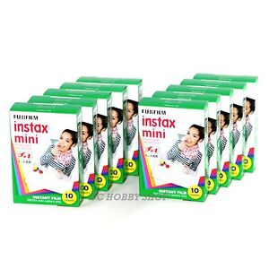Fuji-instax-mini-film-100-films-fujifilm-instant-camera-photos-10-packs