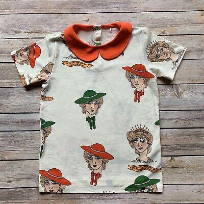 Mini Rodini Diana T-Shirt, 116-122 Cm