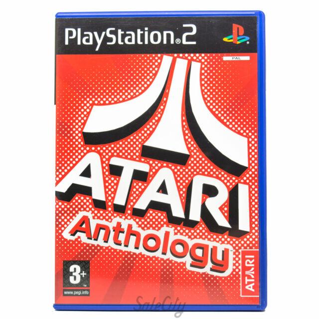 Atari Anthology (Sony PS2) Retro PS3 Kids Boys Rare Arcade Game Complete PAL