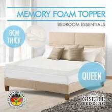 Memory Foam Mattress Topper QUEEN SIZE Visco Elastic Underlay New Adelaide CBD Adelaide City Preview