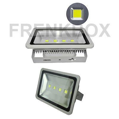 Faro Foco Proyector LED 200W Vatios Exterior IP65 Luz Blanca Alta Brillo